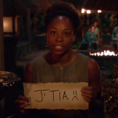 Tasha casting her 3rd Vote of the season against <a href=