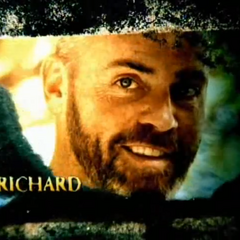 Richard's photo in the opening intro.