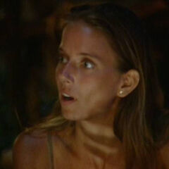 Amber at Final Tribal Council