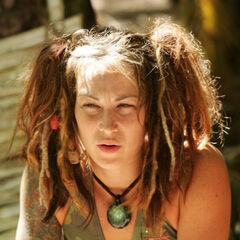 Jessica at the Aitu camp.