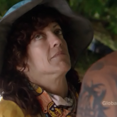 Kathy's reaction to the information.