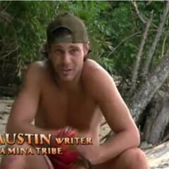 Austin making a confessional about his and Nick's swing vote position.