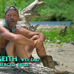 Keith giving a confessional.