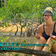 Kelley making a confessional.