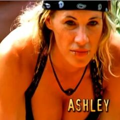 Ashley's first motion shot in the opening.