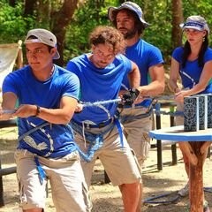 Serpiente competing in the sixth Immunity Challenge, <a href=