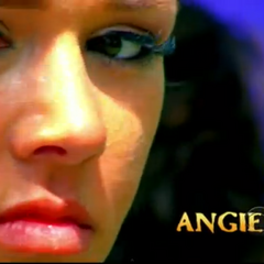 Angie's first motion shot in the intro.