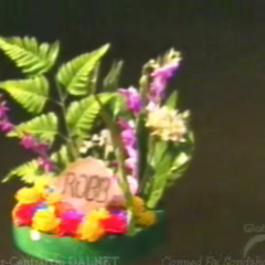 Robb's wreath in the <a href=