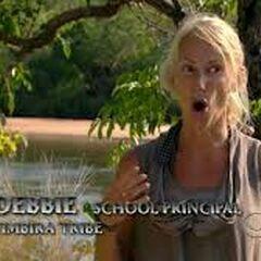 Debbie making a <a href=