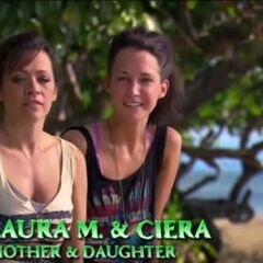 Laura and Ciera giving an <a href=