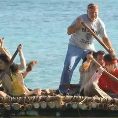 Savaii rowing.