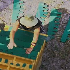 Clay at the final 5 Immunity Challenge, <a href=