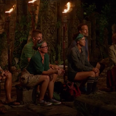 The third incarnation of Ta Keo at Tribal Council.