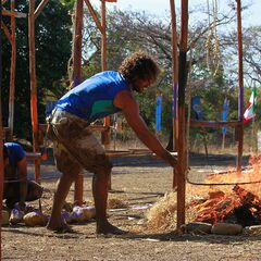 Serpiente competing in the ninth Final Challenge, <a href=