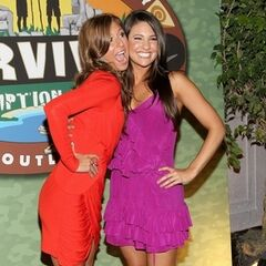 Ashley with Natalie at the reunion.