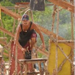 Rob competing in The Final Six Immunity Challenge, <a href=