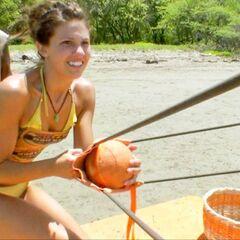 Natalie shooting for Ometepe.