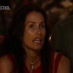 Danni at her first Tribal Council.