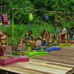 Orkun competing in the final nine Immunity Challenge, <i><a href=
