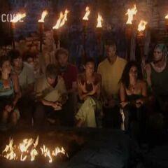 Yaxhá's second Tribal Council.