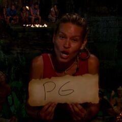 Abi-Maria votes against Peih-Gee.