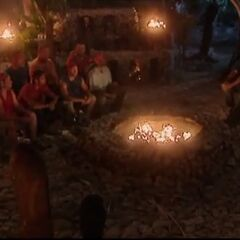 The men's second Tribal Council.