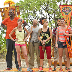 Aparri tribe before the Immunity Challenge