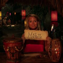 Julia votes for Michele to win the game.