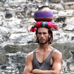 Brandon at the 1st individual Immunity Challenge, <a href=