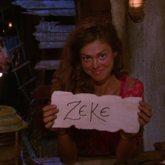 Hali casts her last vote, against <a href=