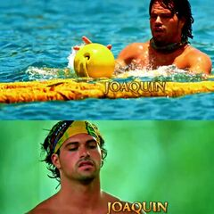 Joaquin's shots at the opening.