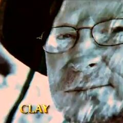 Clay's photo in the opening.