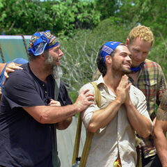 Dan with the new Escameca tribe.