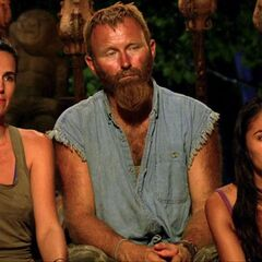 Stephanie's last Tribal Council.