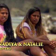 Natalie and Nadiya making an confessional on <a href=