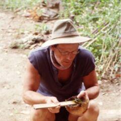 Clay at the Chuay Gahn camp.