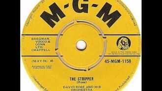 "David Rose & His Orchestra - ""The Stripper"""