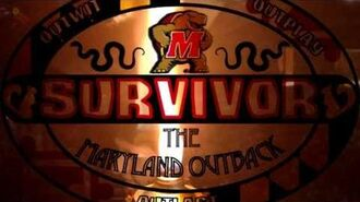 Survivor Maryland Outback Intro