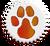 Pawprint-sticker