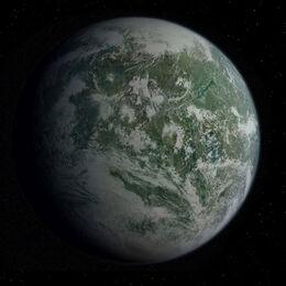 Planet kashyyyk