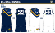 S15 WONDERS home and away