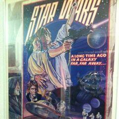 <i>Star Wars</i> poster.
