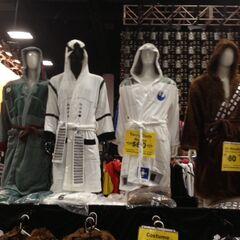Star Wars bathrobes