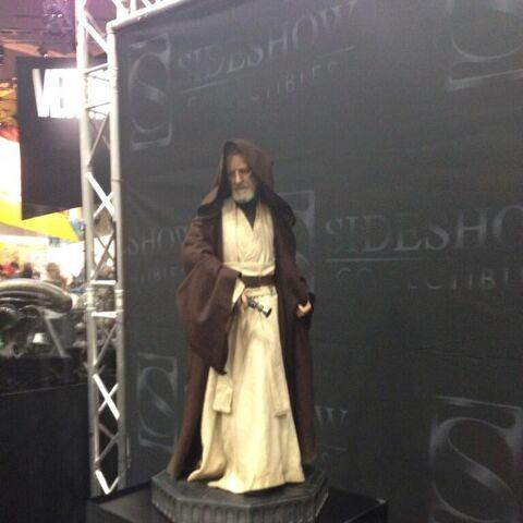 Obi-Wan statue