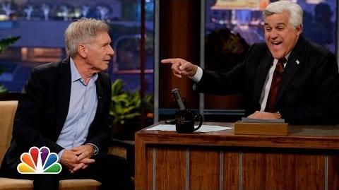 Harrison Ford On New Star Wars - The Tonight Show with Jay Leno