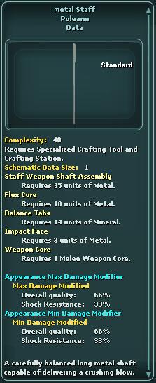 Metal Staff