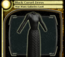 Black Corset Dress (card)
