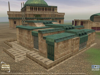 Hospital naboo front
