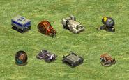 Cannon undeployed