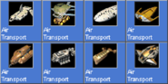 AirTransport icons